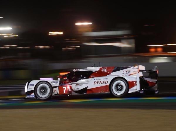 Ein Missverständnis führte letztlich zum Ausfall des Toyota mit der #7