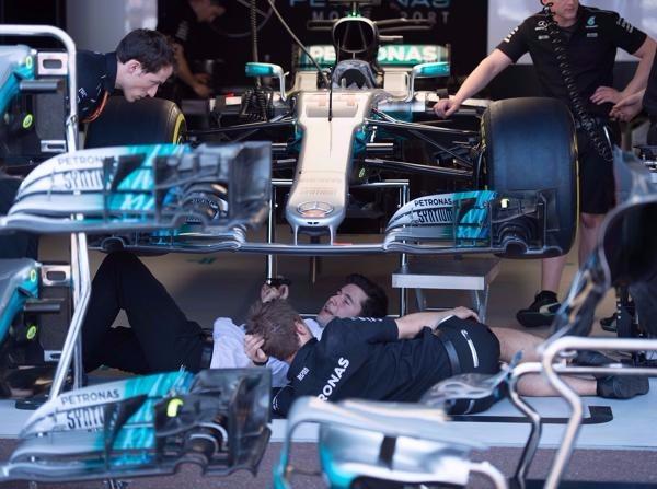 Not-Operation: In Monaco kämpften die Ingenieure mit dem F1 W08