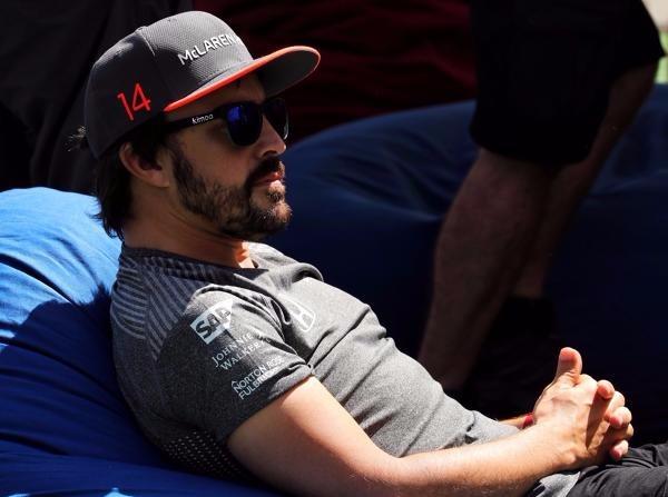 Ob Fernando Alonso sein Wunschcockpit für die Saison 2018 bekommt ...?