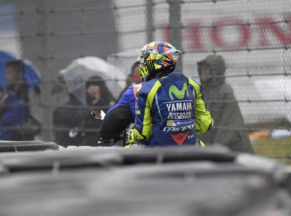 Valentino Rossi konnte das Rennen in Japan nach seinem Crash nicht beenden