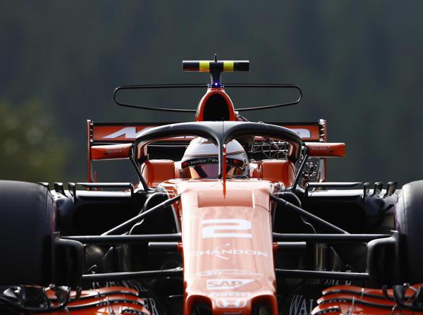 Halo am McLaren: Der Kopfschutzbügel findet in der Szene kaum Freunde