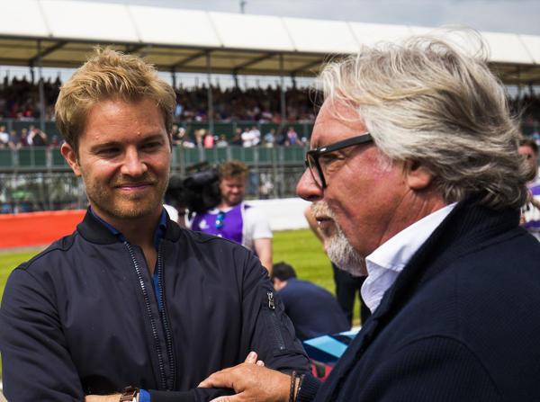 Nico und Keke Rosberg werden in Monaco gemeinsam über Strecke wetzen