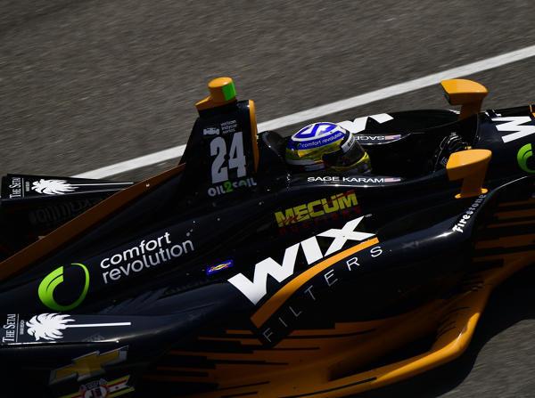 Sage Karam war am Montag der schnellste Fahrer in Indianapolis