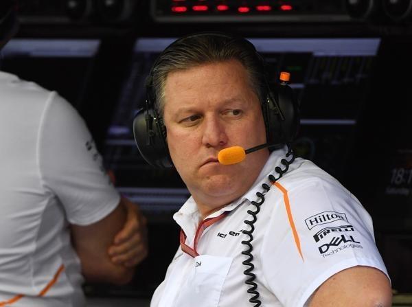 Zak Brown befürchtet den Formel-1-Crash, sieht aber auch Chancen