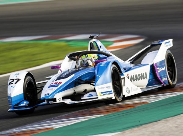 Formel-E-Rookie Alexander Sims war am Dienstag in Valencia der Schnellste