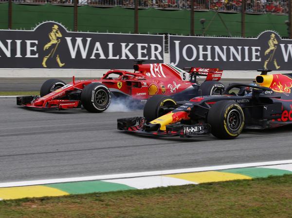 Daniel Ricciardo hatte mit Sebastian Vettel überraschend wenig Mühe