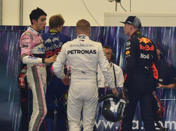 Max Verstappen ist nach dem Rennen nicht gut auf Esteban Ocon zu sprechen