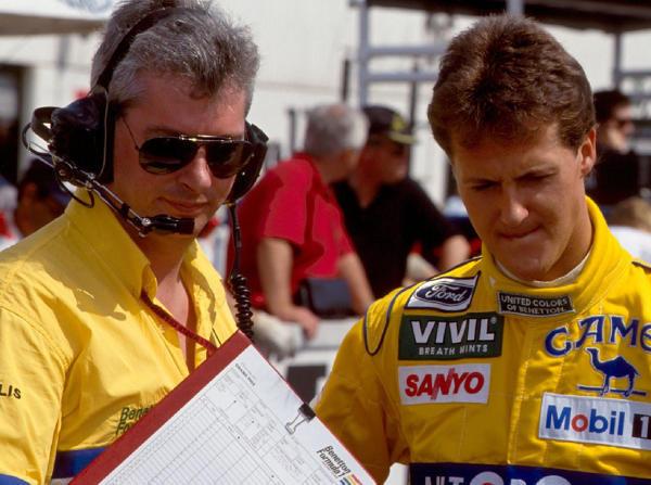 Pat Symonds und Michael Schumacher bildeten bei Benetton ein Gespann